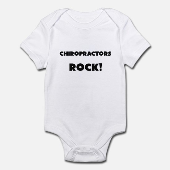 Chiropractors ROCK Infant Bodysuit