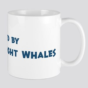 Raised by Northern Right Whal Mug