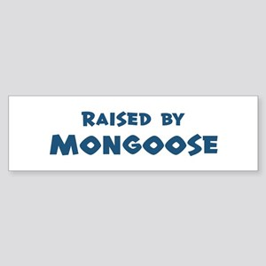 Raised by Mongoose Bumper Sticker