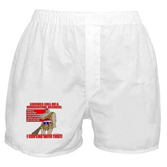 Proud Neanderthal Boxer Shorts