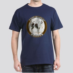 100% American Bulldog Dark T-Shirt