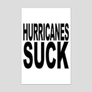 Hurricanes Suck Mini Poster Print