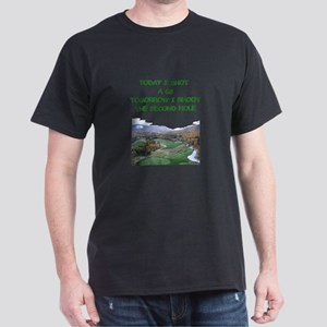golf humor calendar Dark T-Shirt