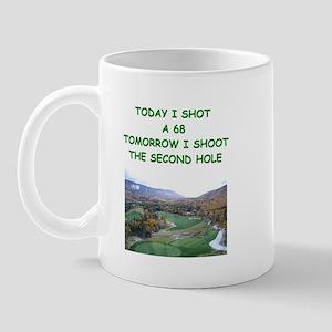 golf humor calendar Mug