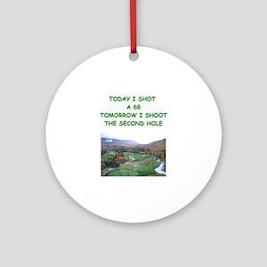 golf humor calendar Ornament (Round)