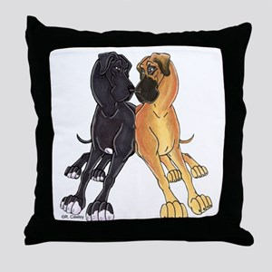 NFNBw Lean Throw Pillow