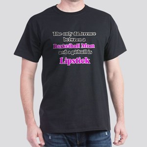 Basketball Mom Pitbull Palin Dark T-Shirt