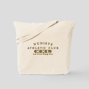 Nudist Athletic Club Tote Bag