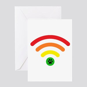 Rainbow Bridge Online Logo Greeting Cards