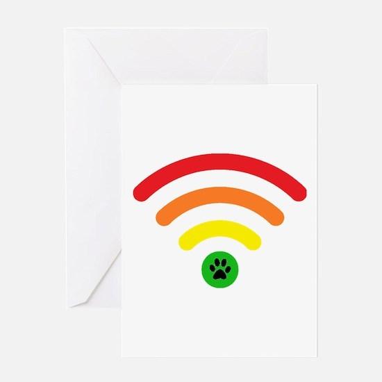 Rainbow Bridge Online Logo Greeting Cards