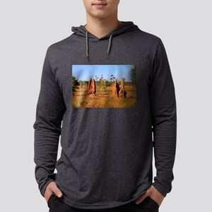 Termite mounds, Outback Austra Long Sleeve T-Shirt
