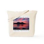 Konocti Sunset Tote Bag