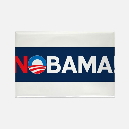 """NOBAMA!"" Rectangle Magnet"