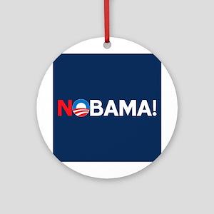 """NOBAMA!"" Ornament (Round)"