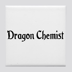Dragon Chemist Tile Coaster