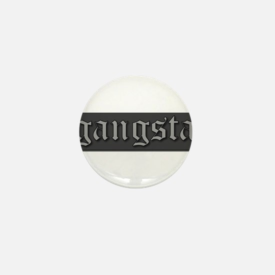 Cute Gangsta Mini Button