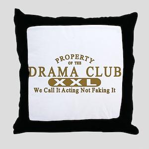 Drama Club Throw Pillow