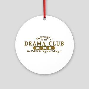Drama Club Ornament (Round)