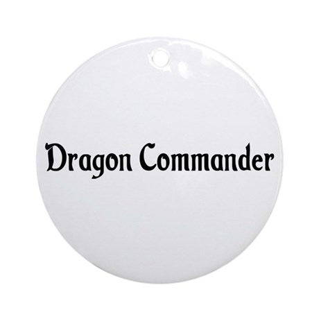 Dragon Commander Ornament (Round)