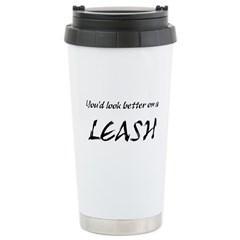 Leash Stainless Steel Travel Mug