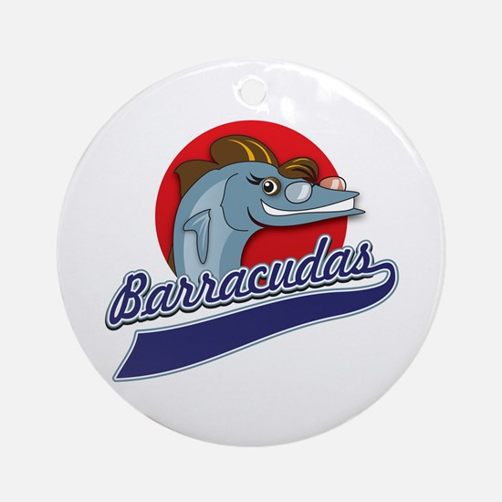 Barracudas Ornament (Round)