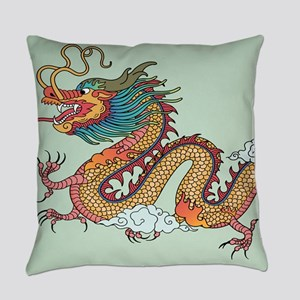 Chinese Dragon Everyday Pillow