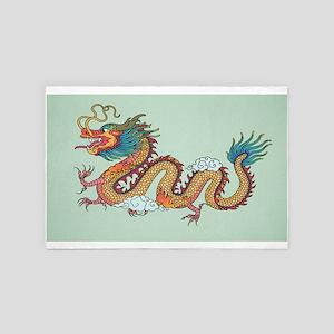 Chinese Dragon 4' x 6' Rug