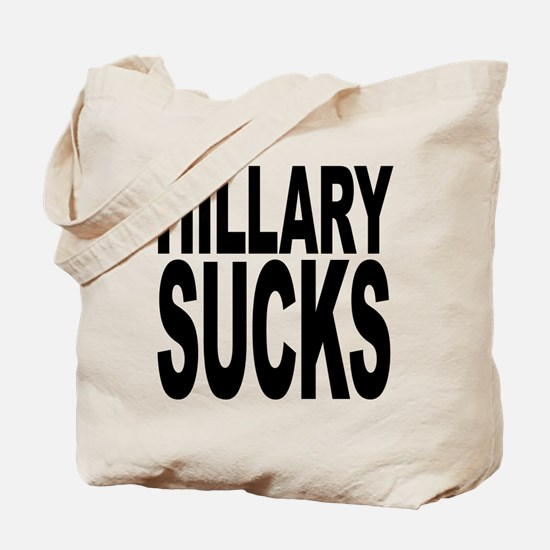 Hillary Sucks Tote Bag