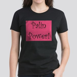 Palin Power! Women's Dark T-Shirt