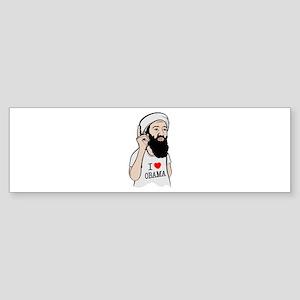 Osama Love Obama Bumper Sticker