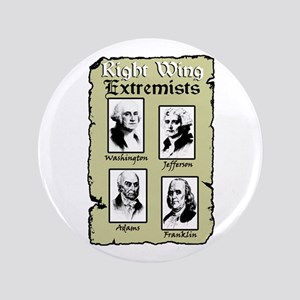 """""""Right Wing Extremists"""" Button"""
