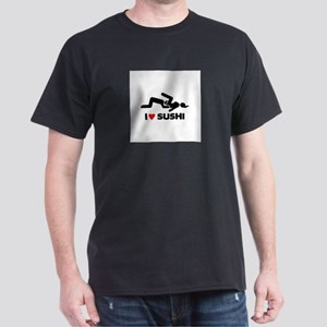 """I Love Sushi...Going down on women"" Dark T-Shirt"