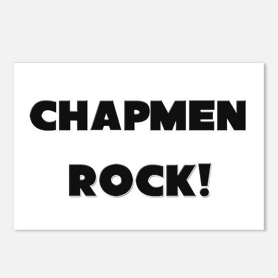 Chapmen ROCK Postcards (Package of 8)