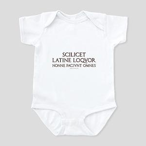 I Speak Latin Infant Bodysuit