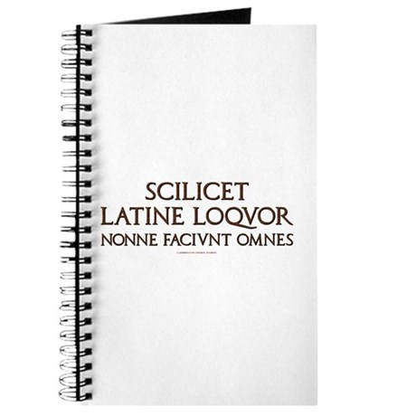 I Speak Latin Journal