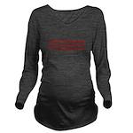 USA Heals Itself! Long Sleeve Maternity T-Shirt