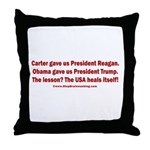 USA Heals Itself! Throw Pillow