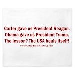 USA Heals Itself! King Duvet