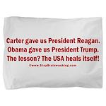 USA Heals Itself! Pillow Sham