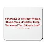 USA Heals Itself! Mousepad