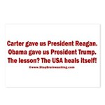 USA Heals Itself! Postcards (Package of 8)