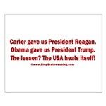 USA Heals Itself! Small Poster
