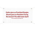 USA Heals Itself! Banner