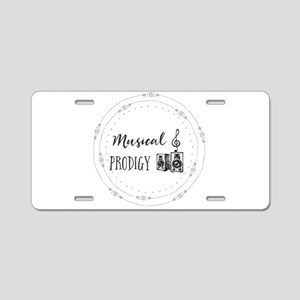 Musical Prodigy Aluminum License Plate
