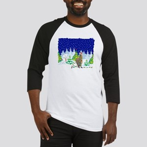 Christmas Lights Alpaca Baseball Jersey