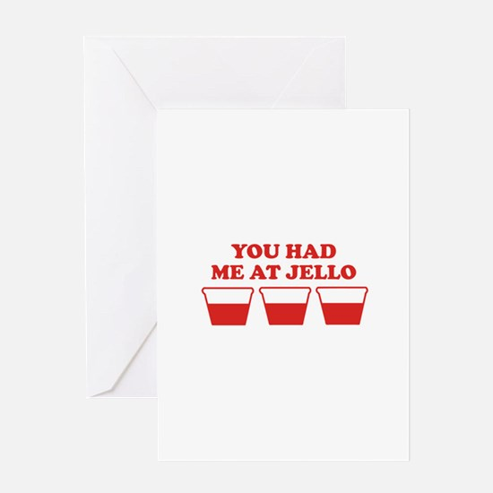 """You Had Me A Jello"" Greeting Card"
