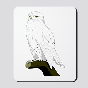Snow Owl Mousepad