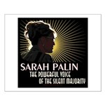 Sarah Palin Powerful Voice Small Poster