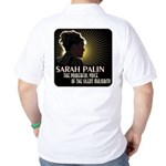 Sarah Palin Powerful Voice Golf Shirt