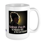 Sarah Palin Powerful Voice Large Mug
